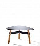 820 x 800mm triangle coffee table
