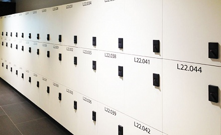 Custom Melamine Lockers
